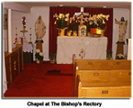 Chapel at The Bishop's Rectory