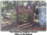 The American Anglican Church - Office of the Bishop